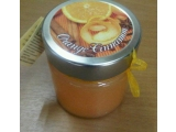 Scented candle in jar, Orange Cinnamon